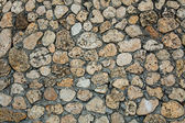 Rough stone wall texture — Stock Photo