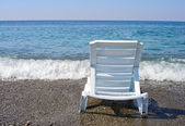 Lounge on the beach — Stock Photo