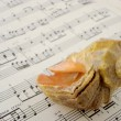 Sea shell and music — Stock Photo #1015640
