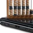 Royalty-Free Stock Photo: Computer and Abacus
