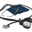 Device measuring blood pressure — Stock Photo