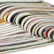 Stack of magazines — Stockfoto #1047211
