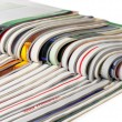 Stack of magazines — Stock Photo #1047213