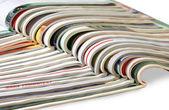 堆栈的杂志 — 图库照片