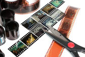 Video editing — Stockfoto