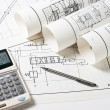 Technical drawings — Stock Photo #1762095