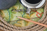 Topographic maps — Stock Photo