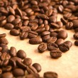 background of coffee grains — Stock Photo