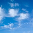 Blue cloudy sky — Stock Photo #1034285