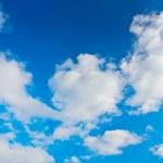 Blue cloudy sky — Stock Photo #1034576