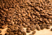 Background of coffe grains — Stock Photo