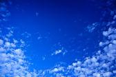 Beatiful blue sky — Stock Photo