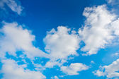 Blue cloudy sky — Stock Photo