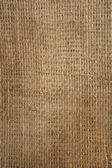 Burlap closely — Stock Photo
