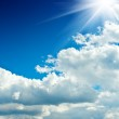 Beautiful sky with clouds — Stock Photo #1057992