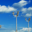 Lanterns on a background of the sky — Stock Photo