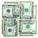Money figure — Stock Photo