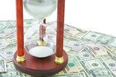 Tijd en geld — Stockfoto