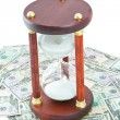 Stock Photo: Time of money