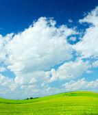 Green hill — Stock Photo