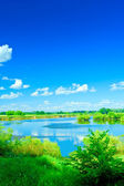Lakes view — Stock Photo