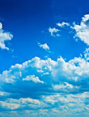 Layer of clouds — Stock Photo