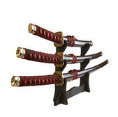 Swords isolated — Stock Photo