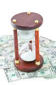 时间的钱 — 图库照片
