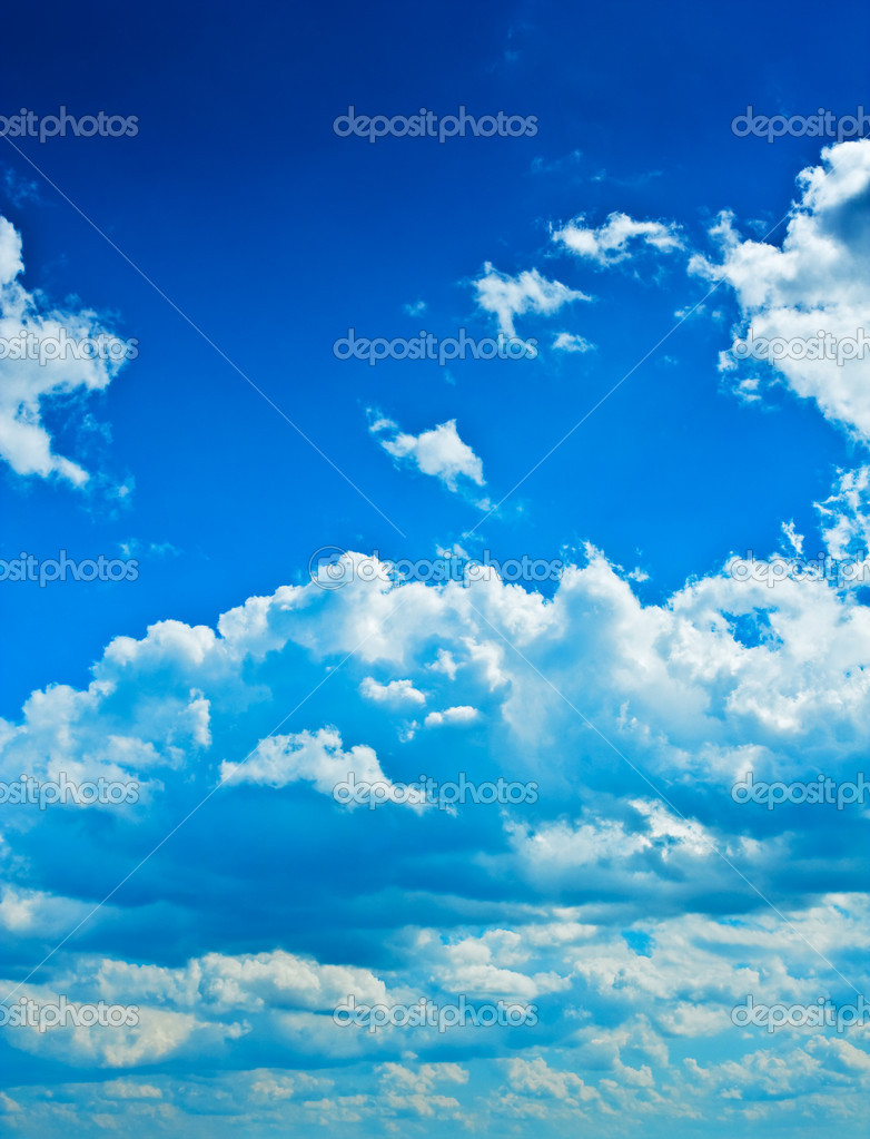 Layer of clouds — Stock Photo #1083957