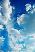 Cumulus clouds on a sky — Stock Photo