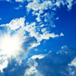 Clouds and sun — Stock Photo #2302213