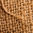 Abstract burlap backgound — Stock Photo