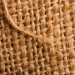 Stock Photo: Abstract burlap backgound