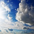 Cloudy heaven and sun — Stockfoto