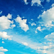 Contrast blue sky — Stock Photo