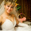 Portrait of the bride — Stock Photo