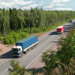 Summer trucking — Stock Photo