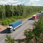 Summer trucking — Stock Photo #1007228