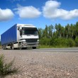 Stock Photo: Summer highway