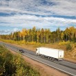 Stock Photo: Highway, fall