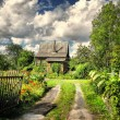 Little summer house, outland - Stock Photo