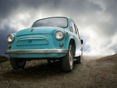 Oldtimer's escape — Stock Photo