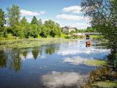 Splendido fiume — Foto Stock