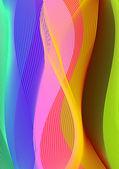 Spectrum background — Stock Vector