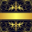 Royalty-Free Stock Imagen vectorial: Gold label