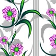 Seamless floral pattern — Stock Vector #1037579