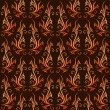 Dark seamless pattern - Stock Vector