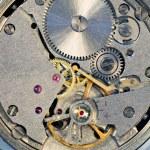 Mechanism of a watch — Stock Photo