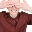 Royalty-Free Stock Photo: See no evil