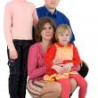 Familie — Stockfoto